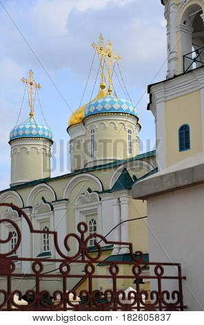 The Church of the Intercession of the Blessed Virgin on Bauman Street in Kazan, Russia