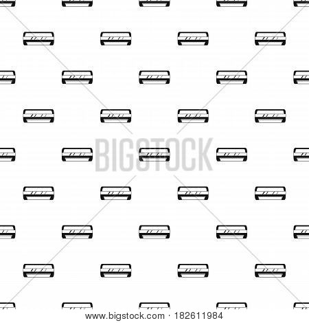 Conditioning split system pattern seamless in simple style vector illustration
