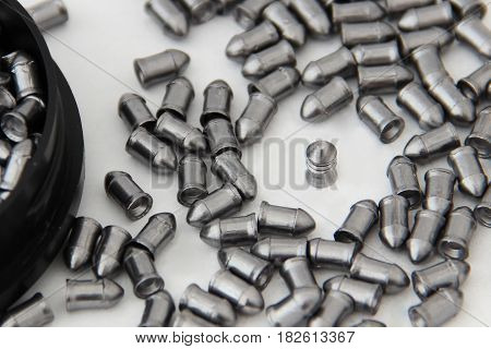 Stand Out From The Crowd. Bullets For Pneumatic Bulk