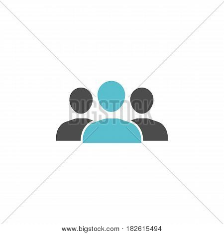 Team solid icon, , seo anddevelopment, people sign, a colorful solid pattern on a white background, eps 10.