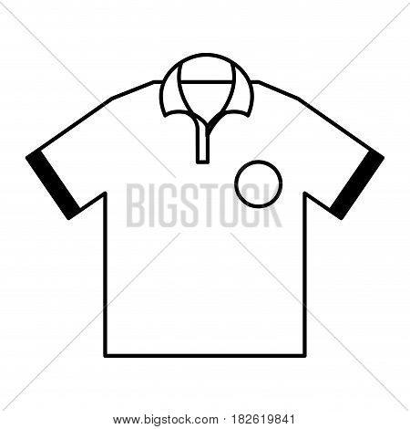golf team shirt icon vector illustration design