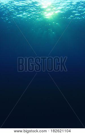 Underwater ocean photo