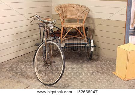 Antique Old Tricycle