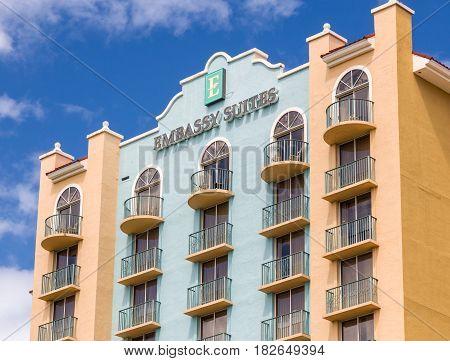 Embassy Suites Hotel Exterior