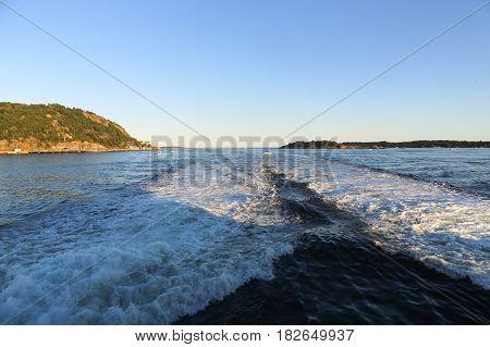 The Kristiansand Coastline