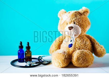 Teddy Bear With A Bandage