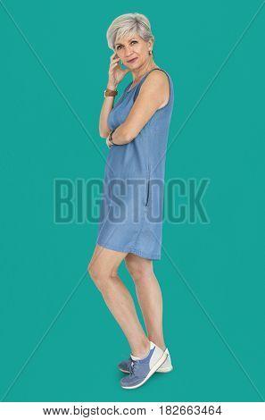 Senior Adult Woman Confidence Self Esteem Portrait