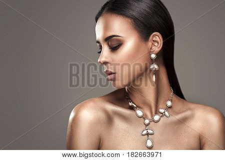 Beauty Portrait Of African Woman.