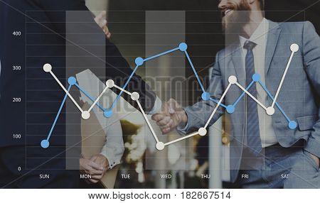 Graph Data Show Summary Analysis Icon Graphic