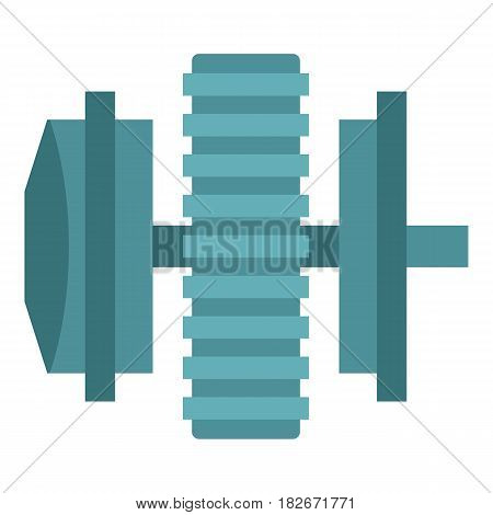 Repair thing icon flat isolated on white background vector illustration