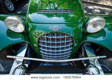 BERLIN - JUNE 05 2016: Detail of roadster Panther Kallista. Classic Days Berlin 2016.