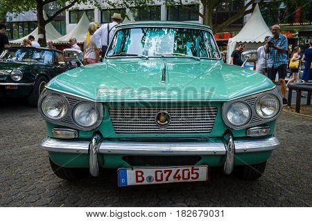 BERLIN - JUNE 05 2016: The compact six-cylinder car Triumph Vitesse. Classic Days Berlin 2016.