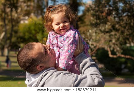 father with the baby