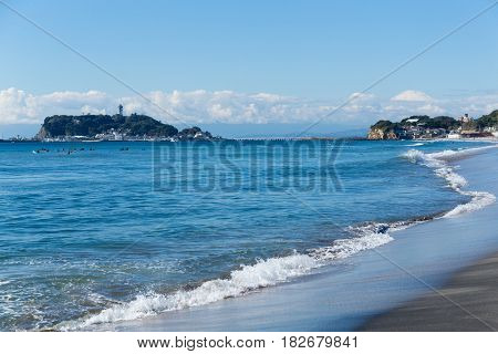 Shonan Beach in Chigasaki City