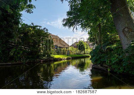 Giethoorn Village Canals