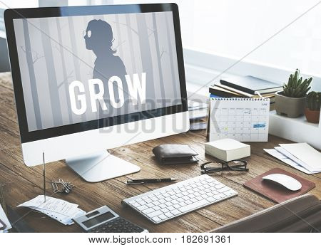 Grow Development Growth Improvement Success