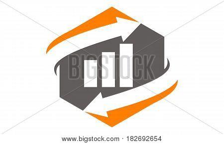 This vector describe about Business Optimize Logo