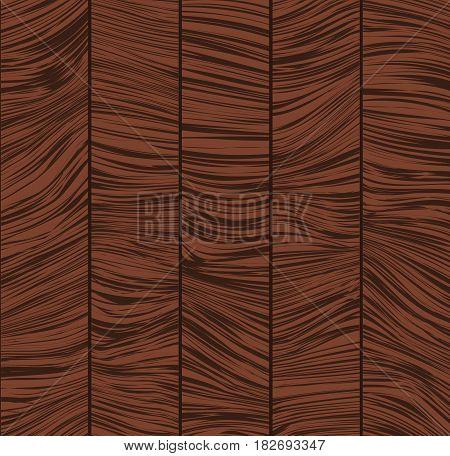 Wooden texture. Vector illustration. Parquet element. Redwood