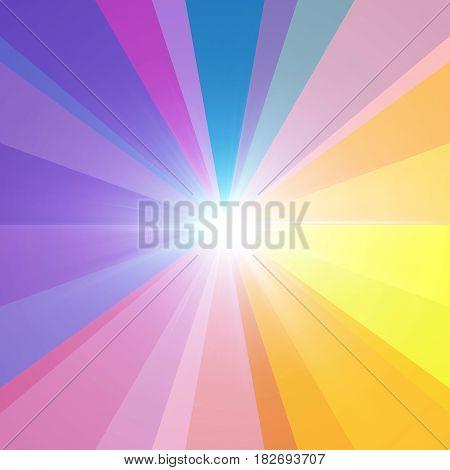 Lens Flare Spectrum Mix