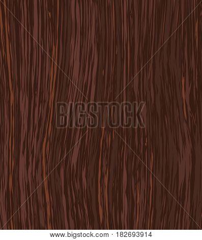 Dark Wooden Texture. Vector Illustration. Parquet Element. Redwood