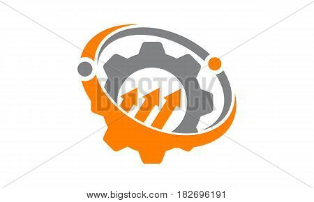 This vector describe about Business Success Service