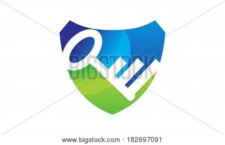This vector describe about Key Shield Logo