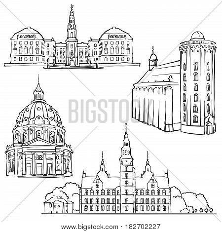 Copenhagen Denmark Famous Buildings