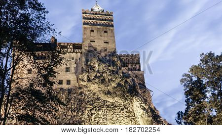 Bran Castle - Count Dracula's Castle, Romania,the mythic place from where the legend of dracula emerged