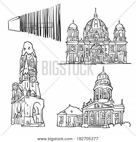 Berlin Germany Famous Buildings