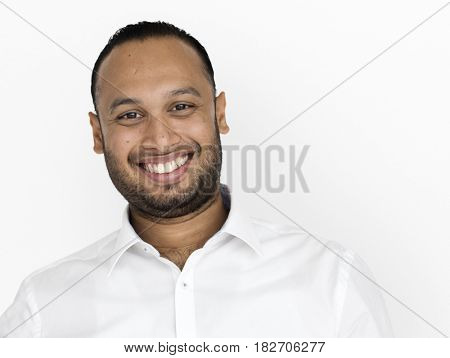 Indian Business Man Smiling Concept
