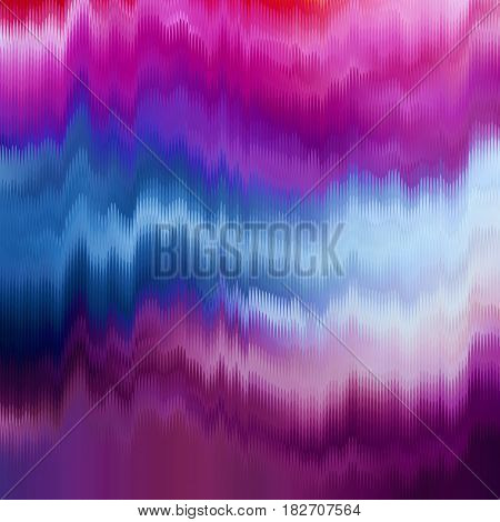 Vector glitch background. Digital image data distortion. Colorful abstract background for your designs. Chaos aesthetics of signal error. Digital decay.