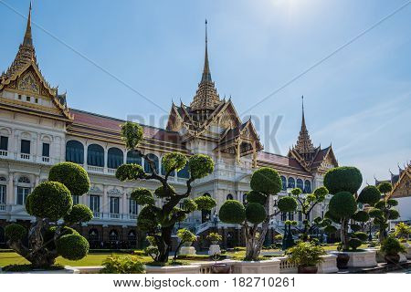 The Great Palace in Bangkok capitol ofThailand