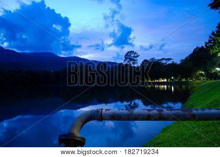 Picturesque Landscape Scene  Nature