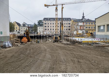 new buildings in the city