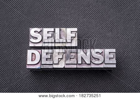 Self Defense Bm