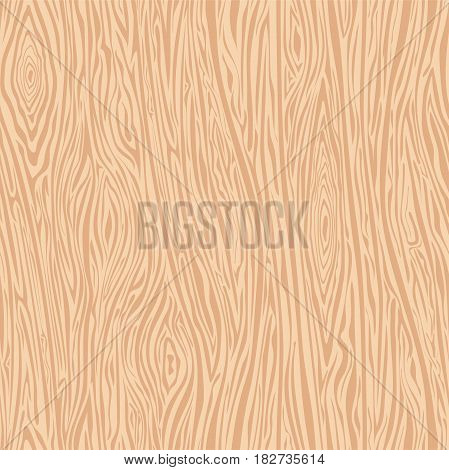 Seamless painted wood texture. Woodgrain background for table floor wall boards fence panel and other. Design detailed brown natural pattern. Small lines.