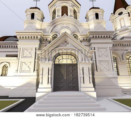 Illustration Of Church