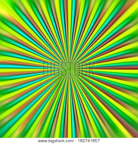 Abstract colorful background. Green flash color.  Tunnel. Backdrop, psychedelic, disco, light show