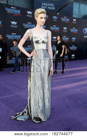 LOS ANGELES - APR 19:  Elizabeth Debicki at the