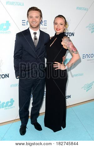 LOS ANGELES - APR 18:  Michael Welch, Guest at the Thirst Gala 2017 at Beverly Hilton Hotel on April 18, 2017 in Beverly Hills, CA