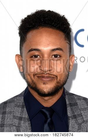 LOS ANGELES - APR 18:  Tahj Mowry at the Thirst Gala 2017 at Beverly Hilton Hotel on April 18, 2017 in Beverly Hills, CA