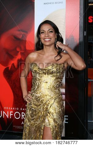 LOS ANGELES - APR 18:  Rosario Dawson at the