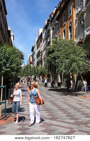 Madrid - Montera Street
