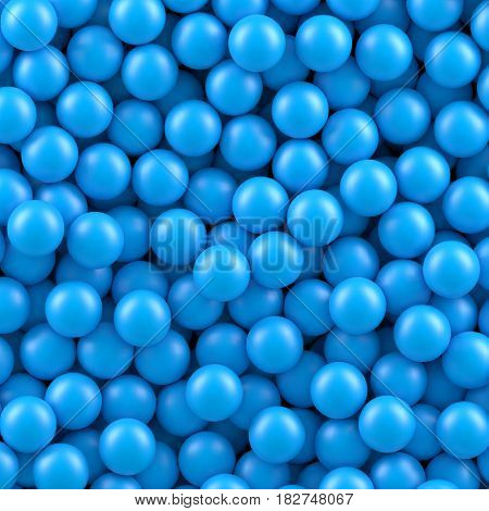Blue balls background. Vector illustration Eps 10