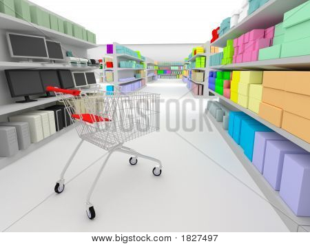 Shopping - In The Supermarket