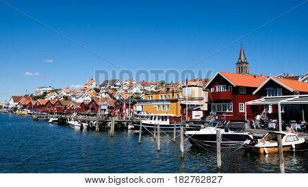Sweden Bohuslan Tourist Village