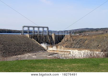 New Brunswick Dam