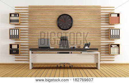 Modern Wooden Office