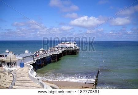 The Pier in Sunshine at Cromer in Norfolk