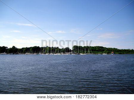 The Norfolk Broads From the Water Taken Near Wiveton